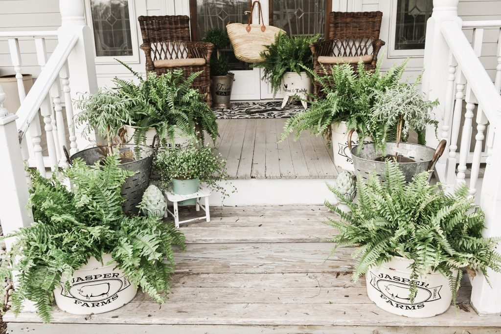 Spring Porch Steps