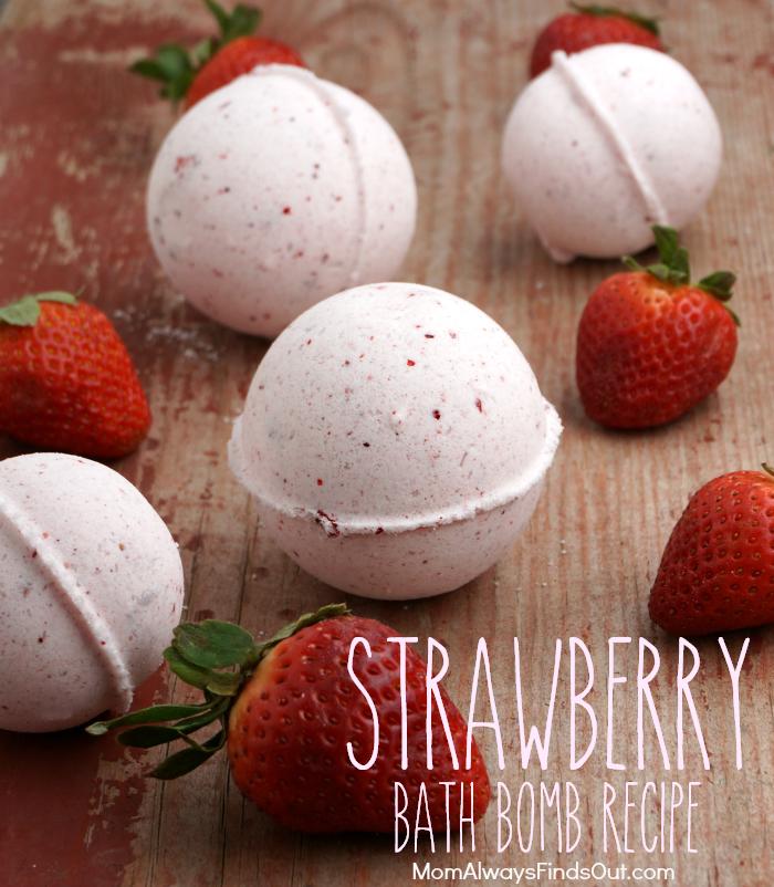 Strawberry Bath Bomb Recipe