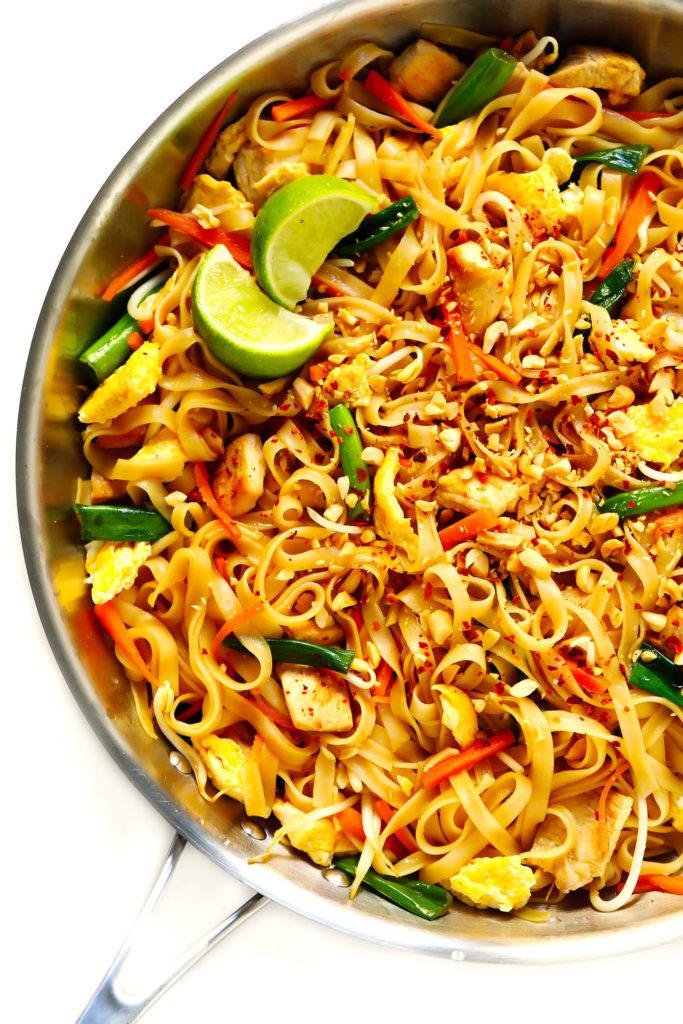 Vegetarian Asian Pad Thai Recipe