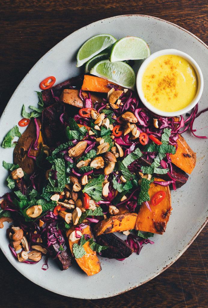 Vegetarian Thai Asian Recipe