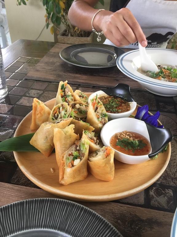 Vegetarian Thai Springroll Recipe