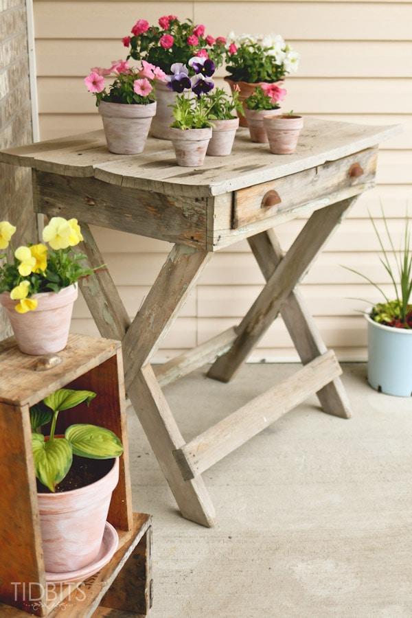 Whitewash Front Porch