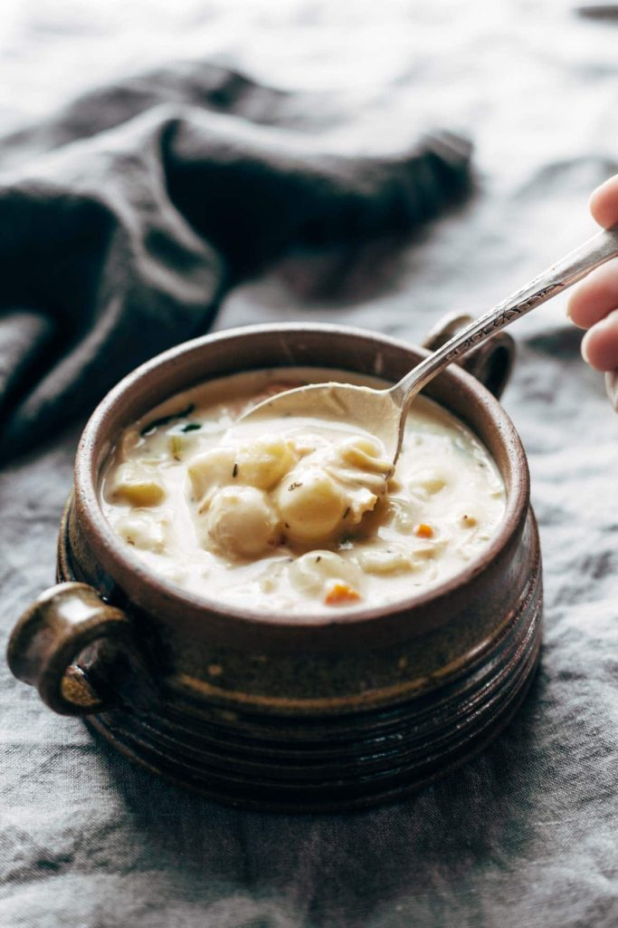 crockpot chicken gnocchi soup