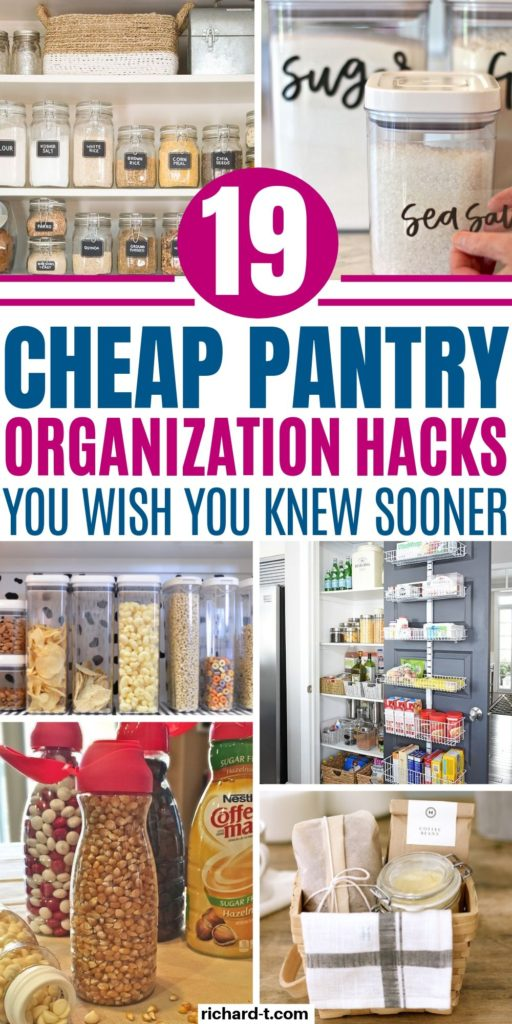 19 Kitchen Pantry organization Hacks 2