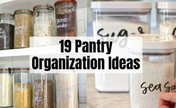 19 Pantry Organization Ideas