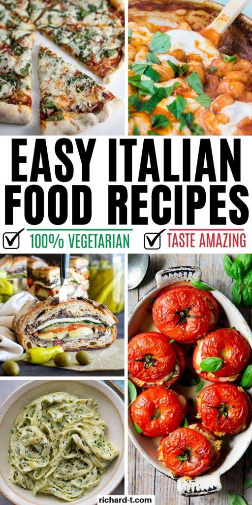 19 Vegetarian Italian Recipes