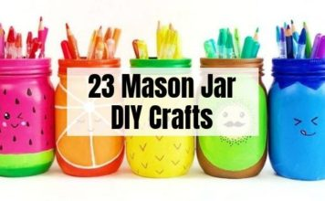 23 Mason Jar Crafts