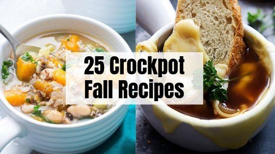 25 Fall Crockpot Recipes