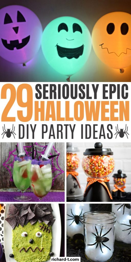 29 Halloween Party Ideas