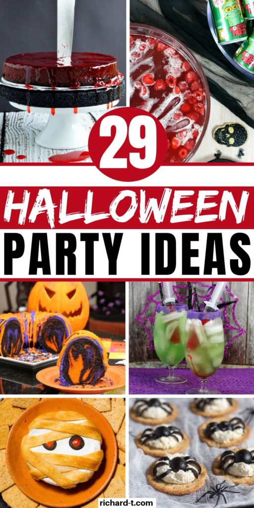 29 Halloween Party Ideas DIY