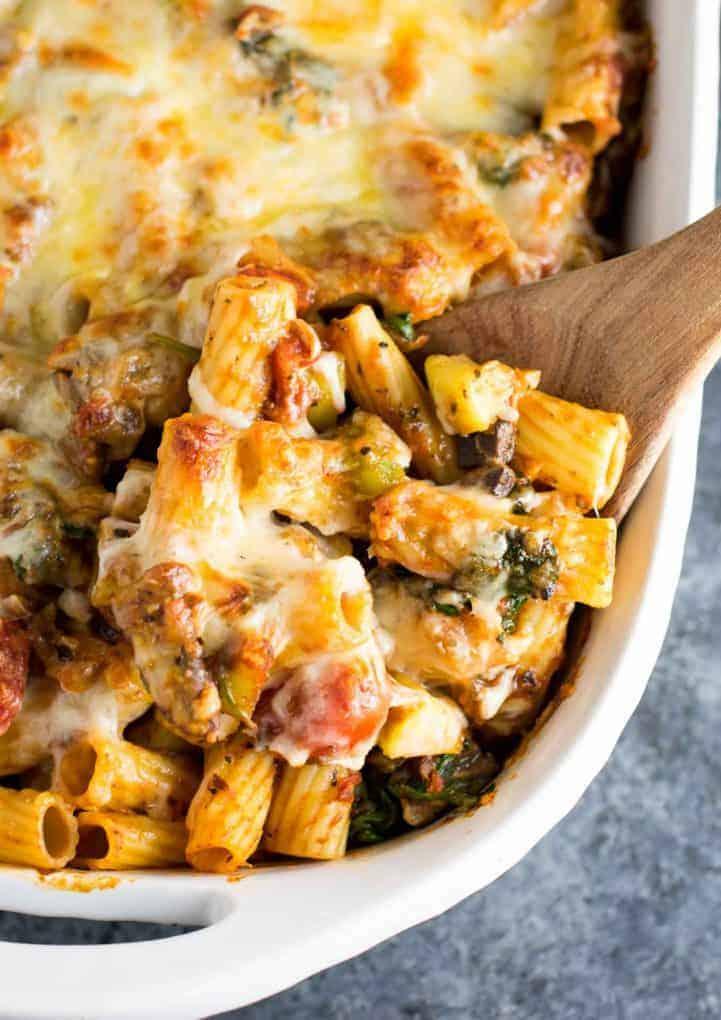 Baked Vegetarian Italian Recipe