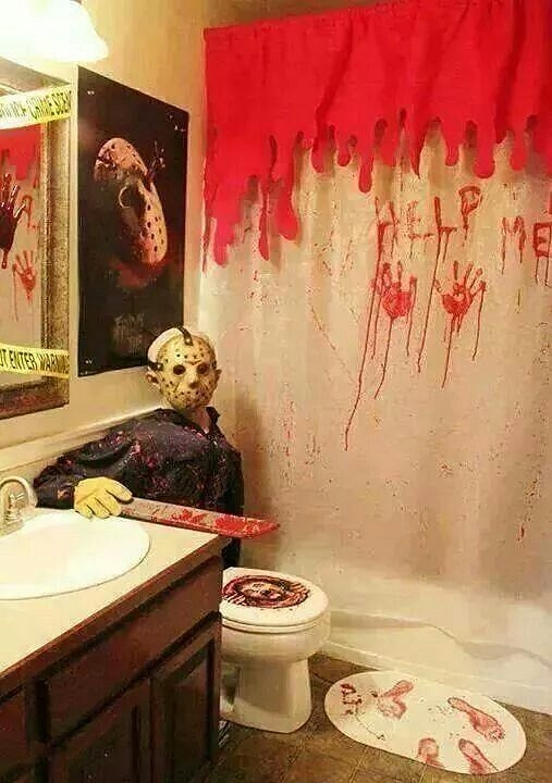 Bathroom Decoration Halloween