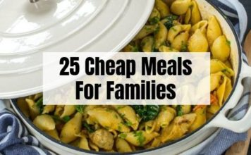 Budget Meals for Large Families