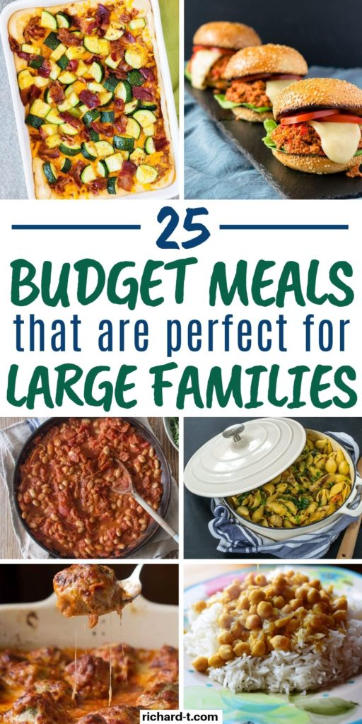 Budget Meals for Large Families 2