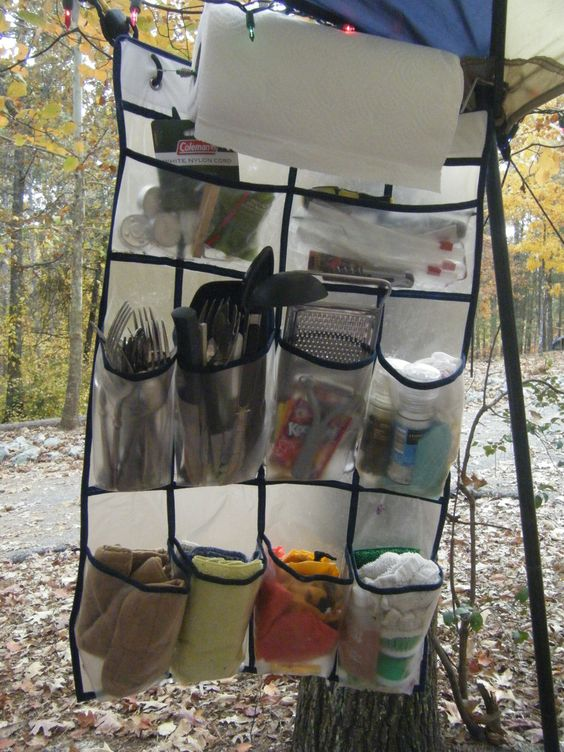 Camping Ideas for storage