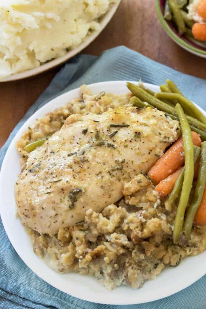 Chicken Crockpot Fall Recipe