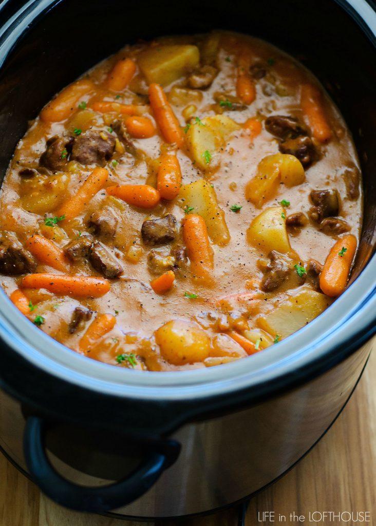 Crockpot Fall Beef Stew