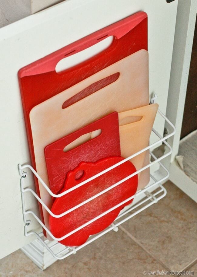 Cutting Board Storage Idea