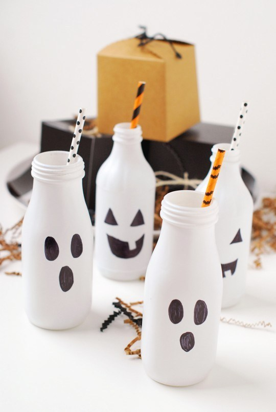 DIY Boo Bottles