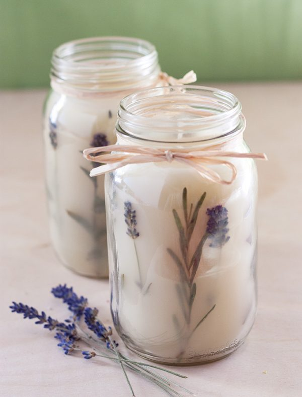 DIY Candles Gifts