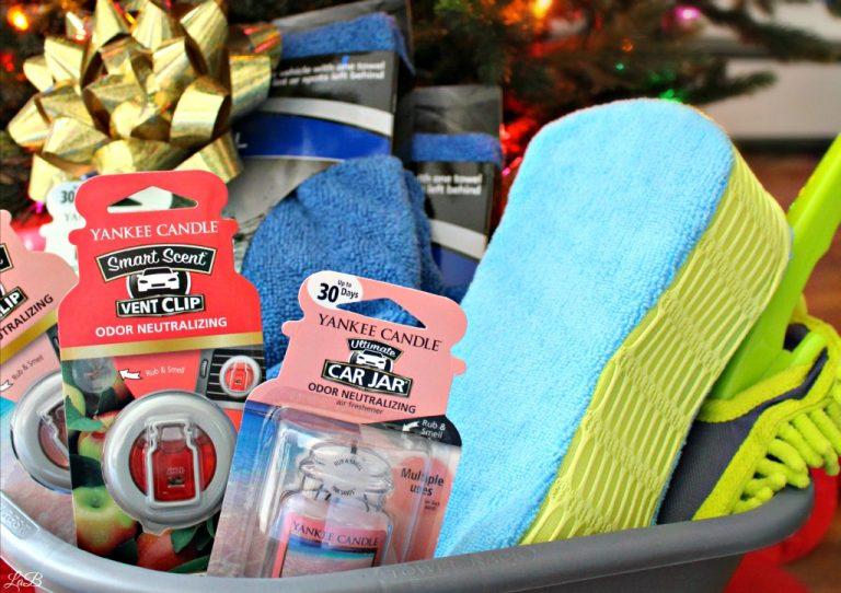 DIY Car Care Gift basket
