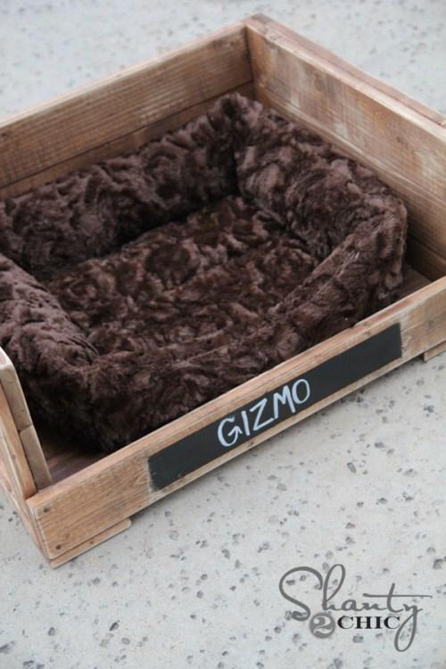 DIY Rustic Decor Pet Bed