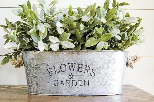 DIY Rustic Flower Planters