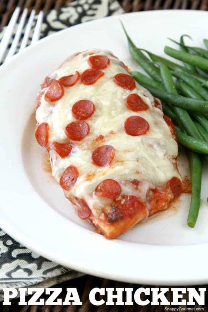 Easy Pizza Chicken Recipe