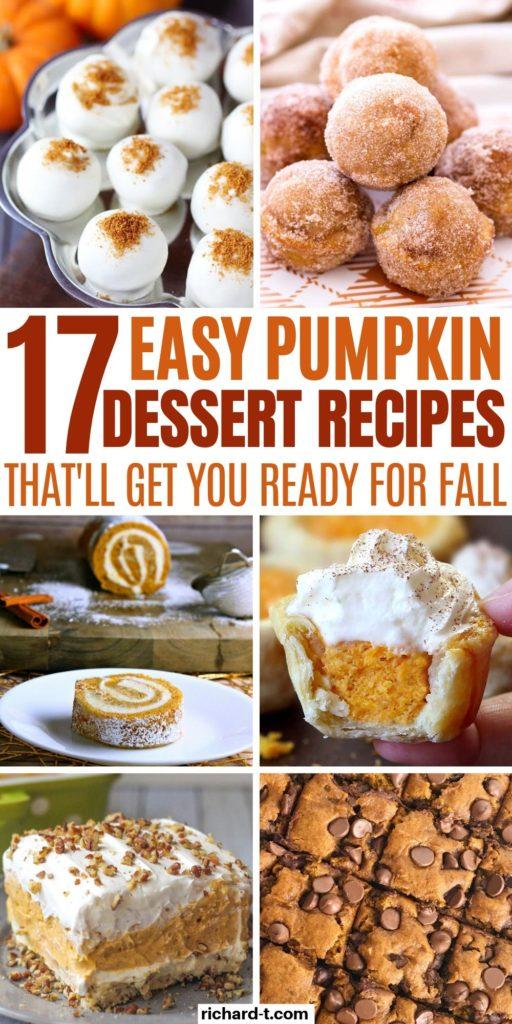 Pumpkin Desserts 2