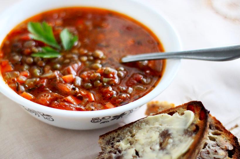 Veggie healthy soup