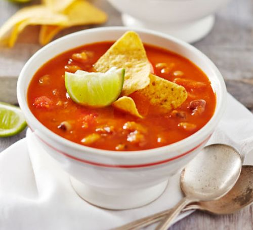 Spicy Chili Bean Soup