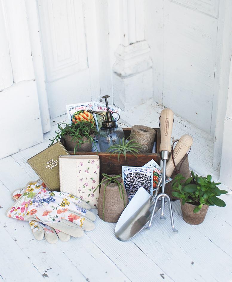 The Perfect Gardener's Gift Basket