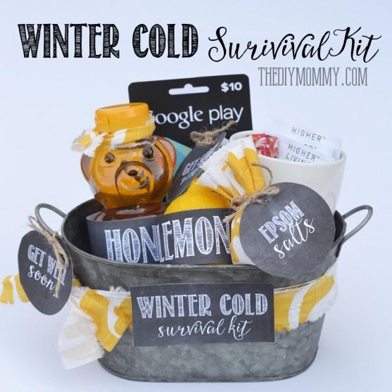 Winter Cold Survival Kit