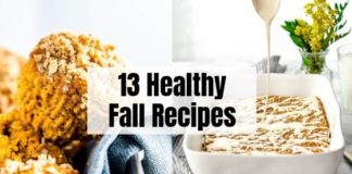 13 Healthy Fall Recipes