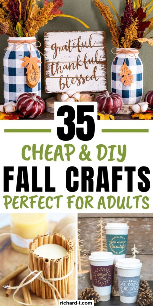 35 Best DIY Fall Crafts For Adults copy
