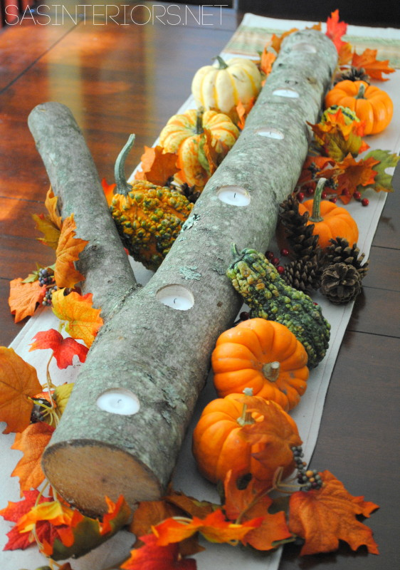5 Minute Autumn Centerpiece
