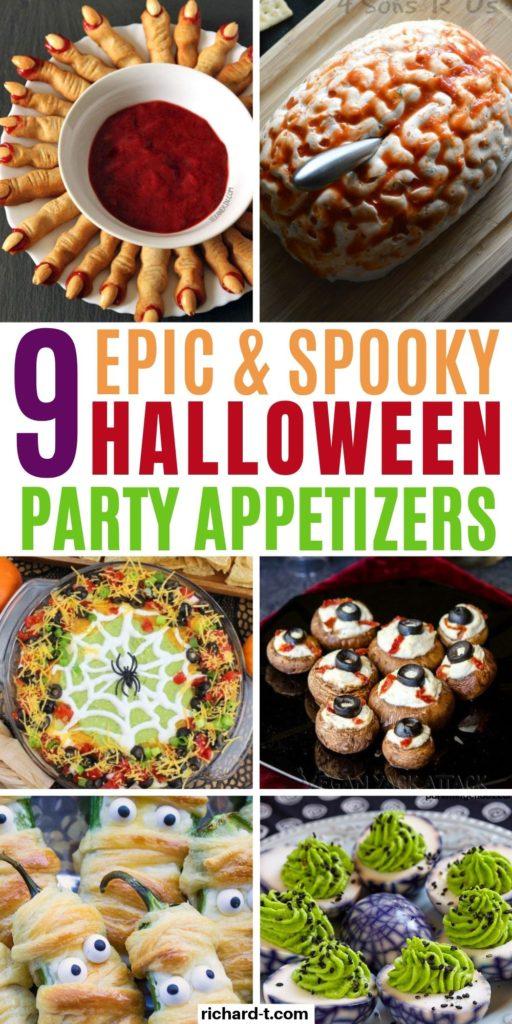 9 Halloween Appetizers