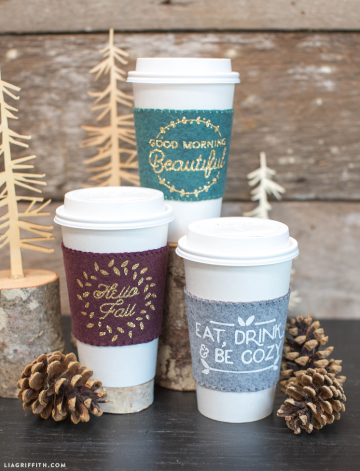 Fall Coffee Sleeves