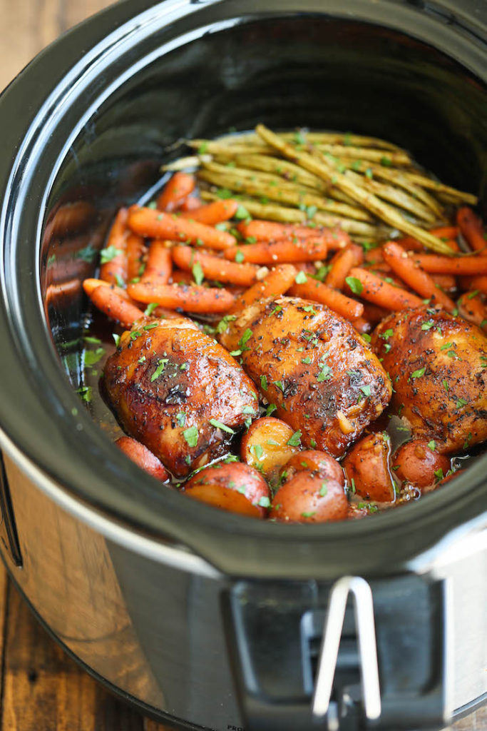 Healthy Fall Slow Cooker Recipes