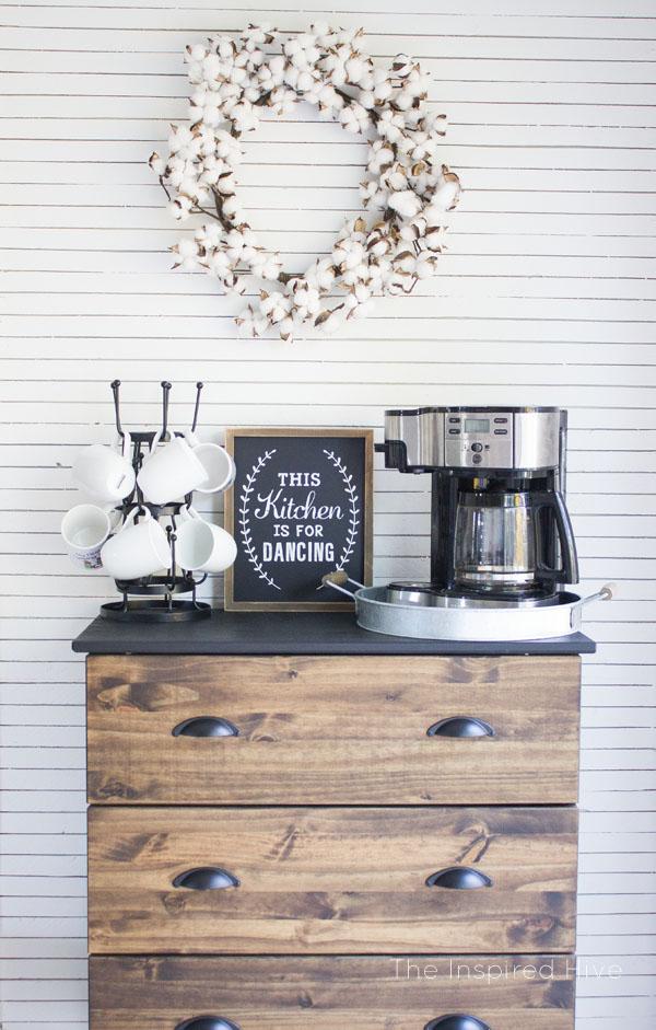 Ikea Tarva Hack and Coffee Bar