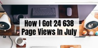 July Blog Traffic