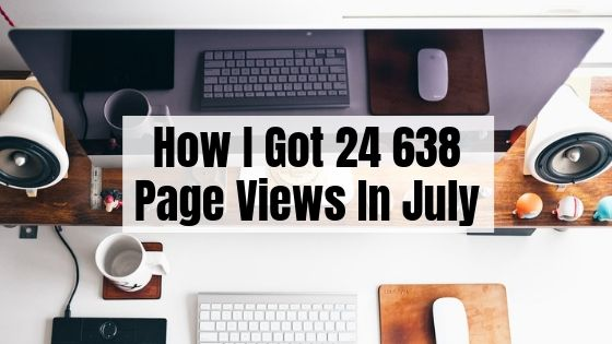 July Blog Traffic