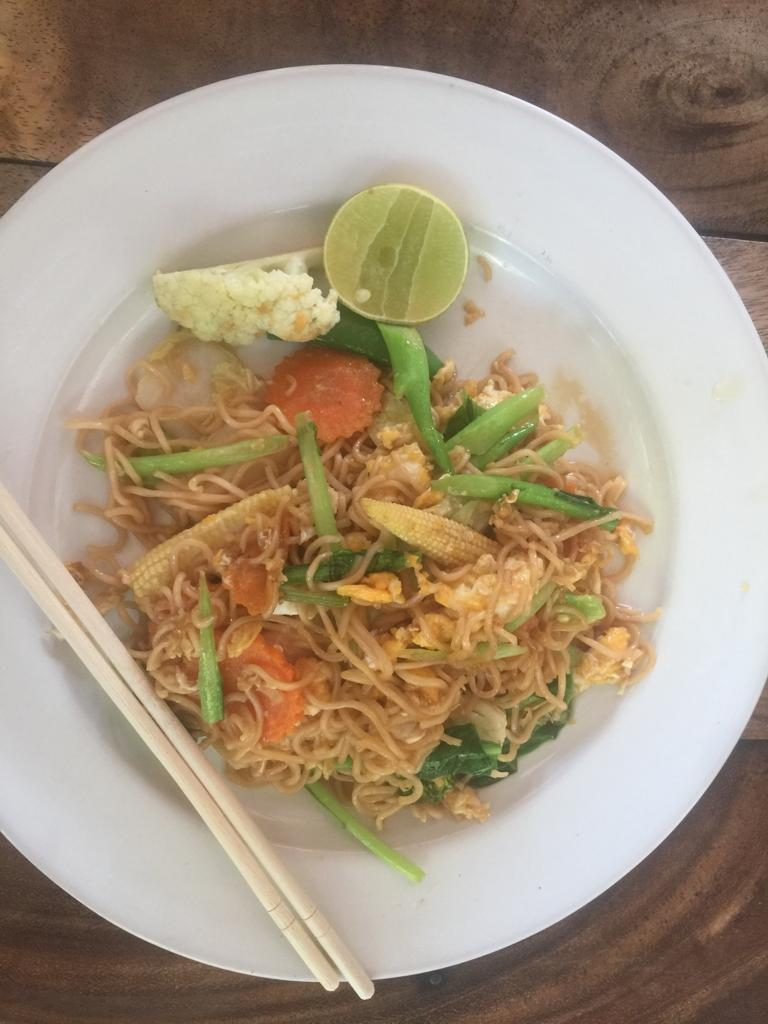 Thai food in Railay