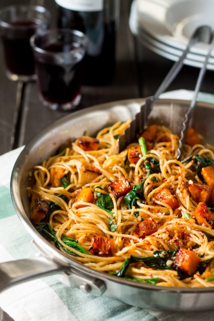 Veggie Pasta for Fall