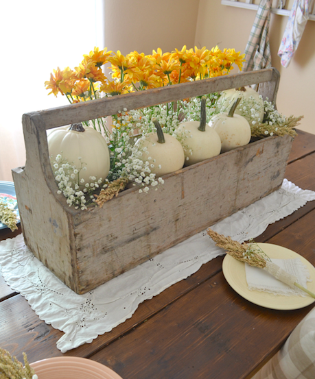 Vintage Thanksgiving Table