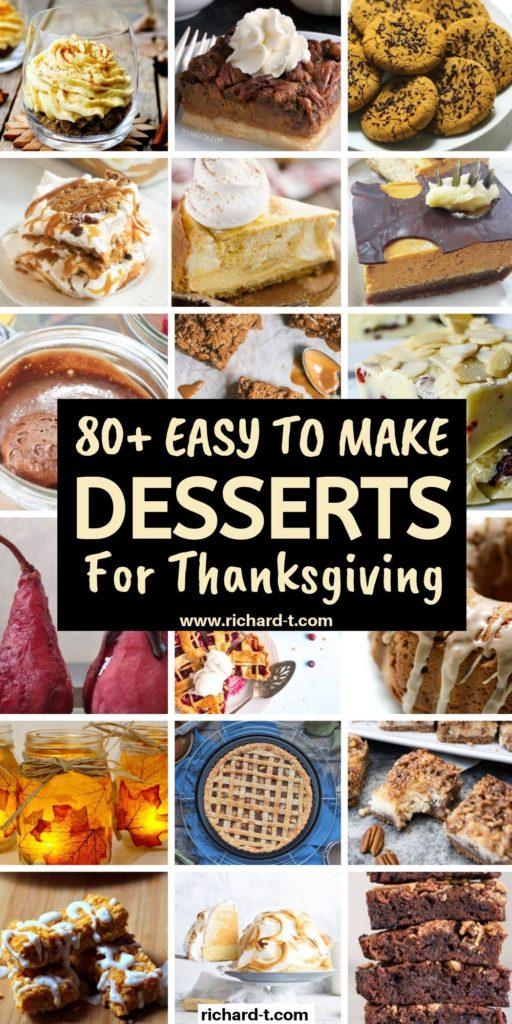 80+ Thanksgiving Desserts