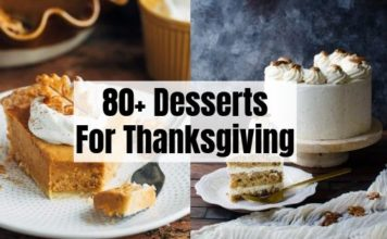 80+ Thanksgiving Desserts