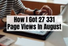 August 2019 Blog Traffic Report
