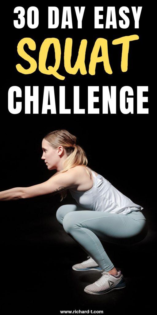 Easy Squat Challenge