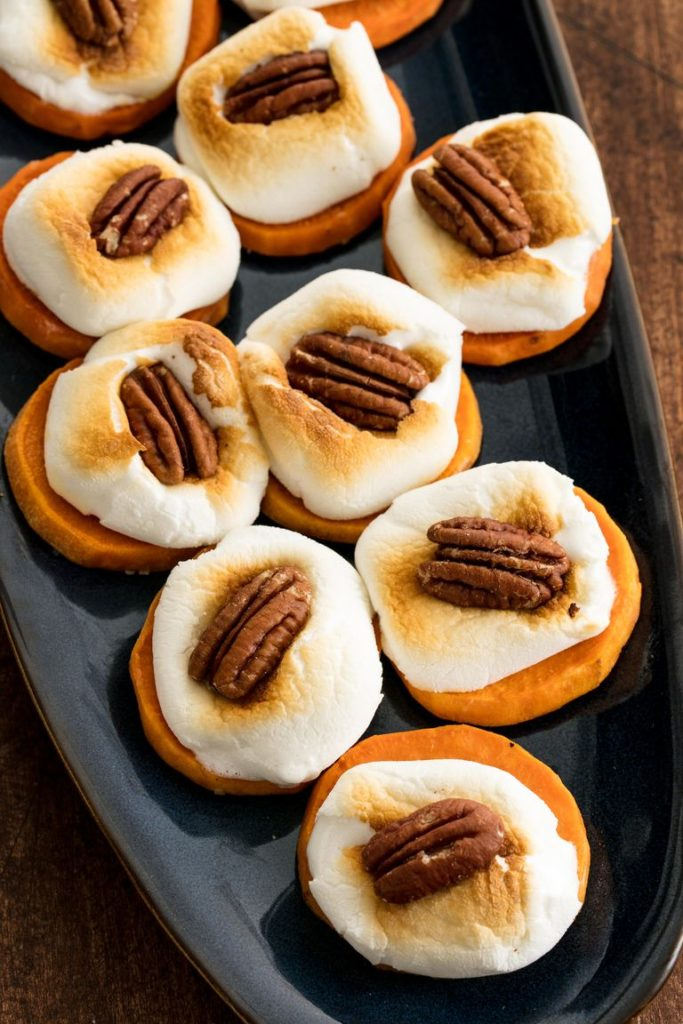 Thanksgiving Appetizer Sweet Potato Bites